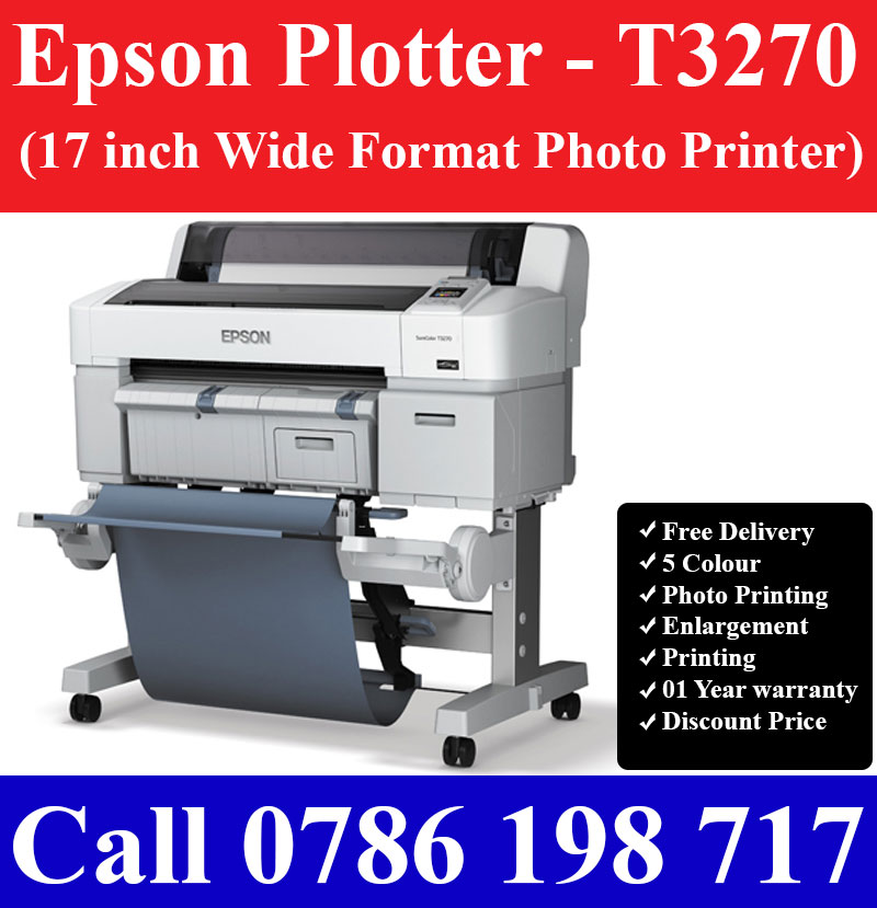 Epson A2 Plotters for Cad Printing and Photo Printing Sri Lanka